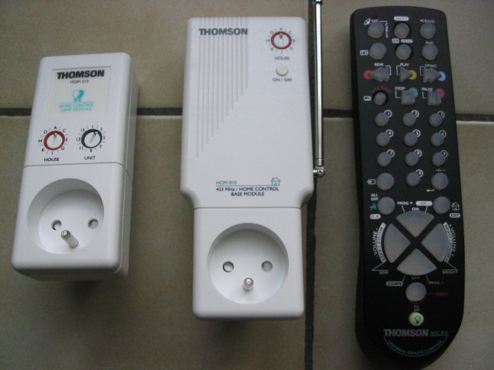 Domotique et norme x10 for Free courant porteur